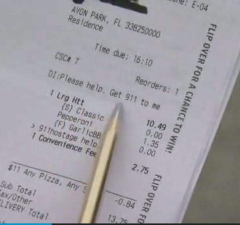 Florida woman uses Pizza Hut app to request 911 assistance