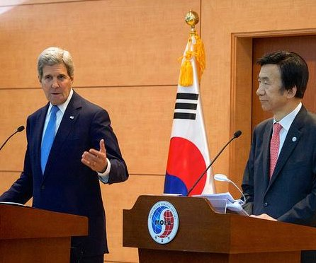 John Kerry urges North Korea to denuclearize during Seoul visit