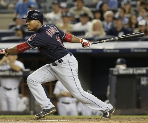 Yan Gomes' grand slam helps Cleveland Indians beat Los Angeles Angels