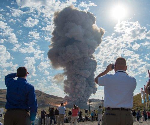 NASA's Mars rocket booster test a success