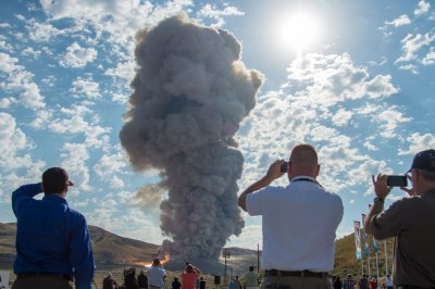 NASA's Mars rocket booster test a success