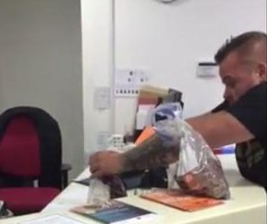 British man pays $80 fine in pennies at council office