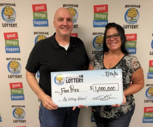 Michigan $1M lottery winner: 'My knees buckled and I fell to the floor'