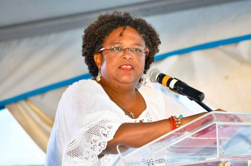 Mia Mottley becomes first female prime minister of Barbados