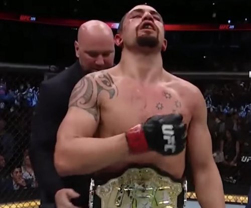Robert Whittaker: UFC middleweight champ out until 2019