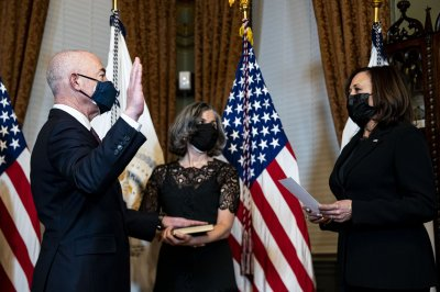 Mayorkas sworn in as homeland security secretary