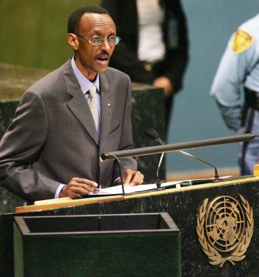 Kagame denies U.N. claims on atrocities