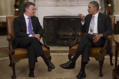 Obama cites 'tremendous progress' in Colombia