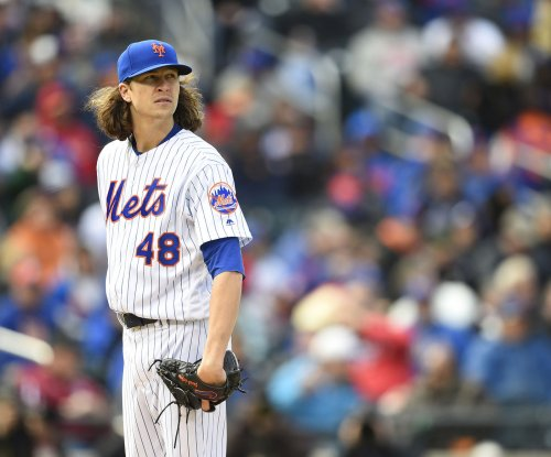 New York Mets RHP Jacob deGrom to miss Wednesday's start