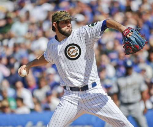 Chicago Cubs place RHP Jason Hammel on bereavement list