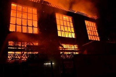 Second fire in four years guts Scotland art school