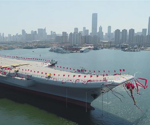 Report: Chinese aircraft carrier could be sent to 'protect' South China Sea