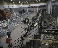 Two dead, more than 100 hurt in bleachers' collapse at Israeli synagogue
