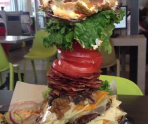 McDonald's patron creates 'Big Max' 3.8-pound burger