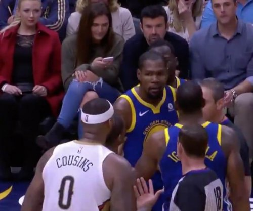 DeMarcus Cousins, Kevin Durant nearly fight, get ejected