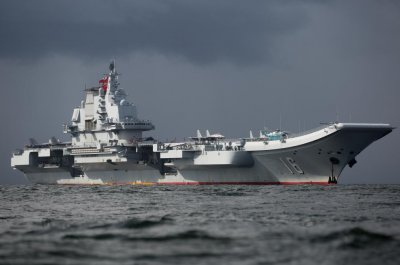 China's aircraft carrier sailed near Guam, accessed Taiwan Strait