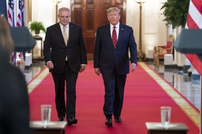 Watch live: Trump, Australian leader Scott Morrison hold joint news conference