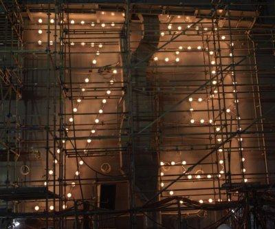 Navy, Huntington Ingalls relight USS George Washington's hull lights