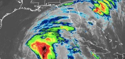 Cristobal regains tropical storm strength, heading for U.S. Gulf Coast