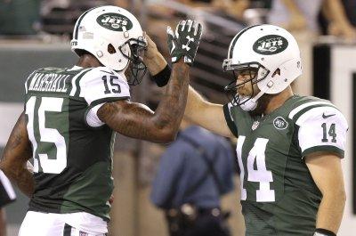 New York Jets' Brandon Marshall slims down from infomercial