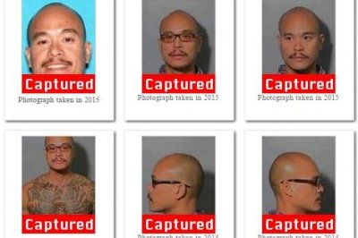 FBI 'Ten Most Wanted' fugitive caught at U.S. border, wanted in girlfriend's death