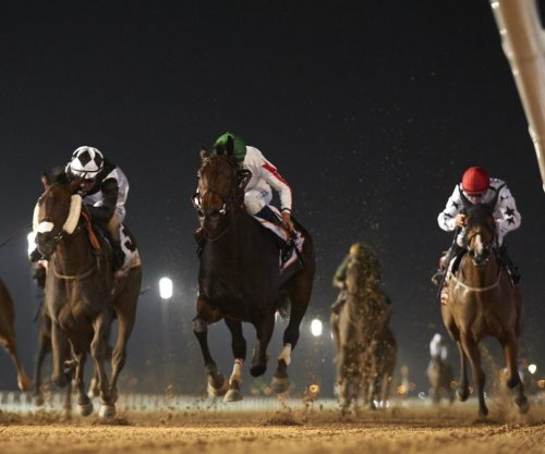 UPI Horse Racing Weekend Preview: Upset in Dubai, Kentucky Derby and Oaks preps