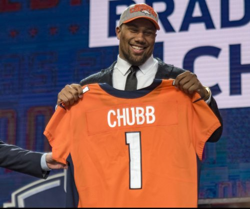 Broncos' Harris: Chubb looks like a young Khalil Mack