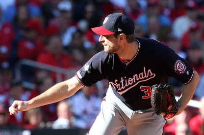 Scherzer's no-hitter for 7 innings leads Nats to 2-0 NLCS lead over Cards