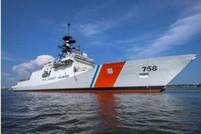 Coast Guard cutter NSC Stone completes builder's trials