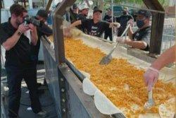Arizona restaurant cooks 25-foot chimichanga for likely Guinness World Record