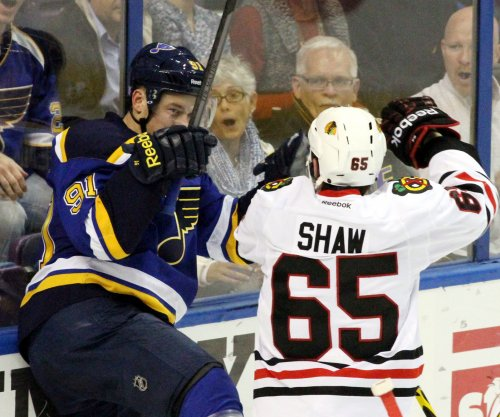 Blackhawks' Andrew Shaw gets one game suspension, fine