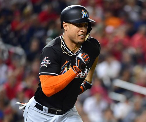 Miami Marlins' Giancarlo Stanton stars in provocative music video with Lexy Panterra