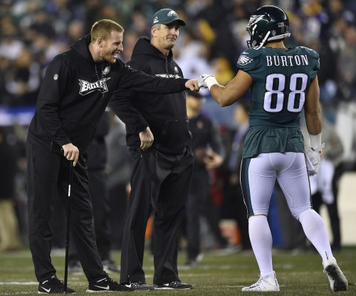 Philadelphia Eagles' Doug Pederson 'very encouraged' by Carson Wentz's progress