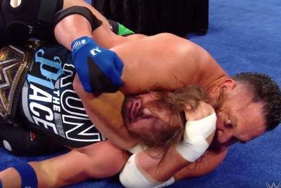 WWE Smackdown: Joe chokes out Styles, The Miz tricks Bryan
