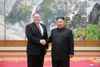 Report: Kim, Pompeo disagree on denuclearization measures