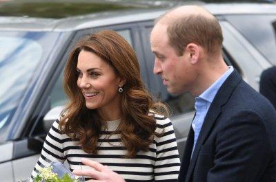 Prince William, Kate Middleton begin royal train tour in Edinburgh