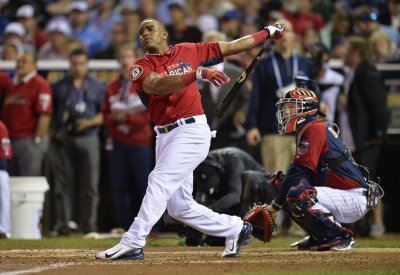 Cespedes repeats as Home Run Derby champion