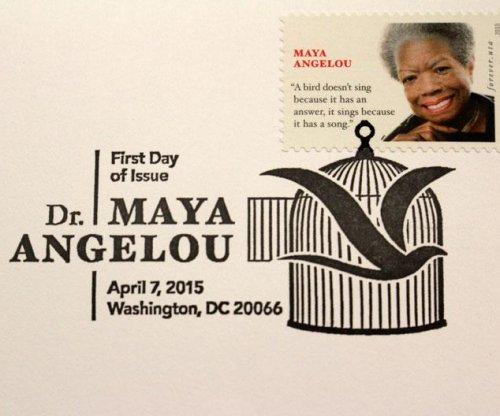 At stamp dedication, Oprah honors Maya Angelou's legacy