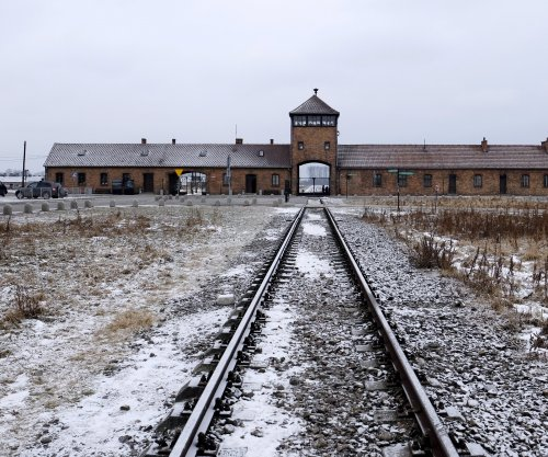 Israeli man fined for urinating on Auschwitz memorial