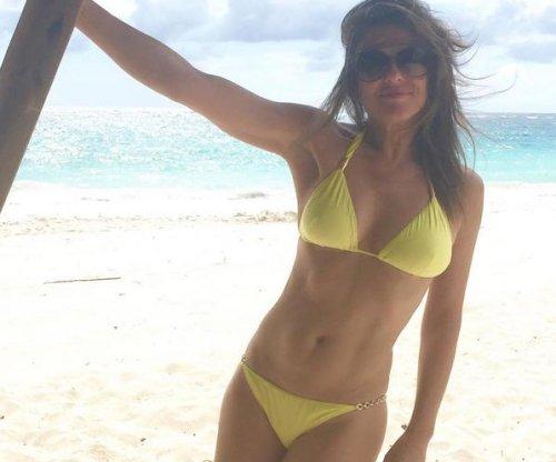 Elizabeth Hurley stuns in bikini photo at age 50
