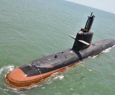 Indian-built Scorpene sub begins sea trials