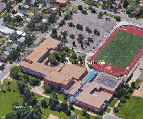 Woman, 2 boys shot outside Denver high school