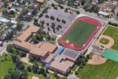 Woman, 2 boys shot outside Denver high school