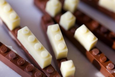 Japanese designer goes viral with functional and edible chocolate LEGOs
