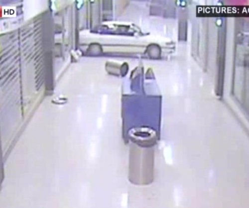 Cars drive through malls in Australian burglaries