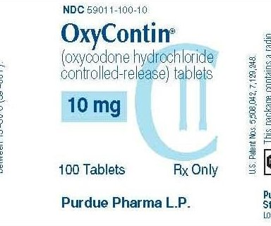 FDA approves OxyContin for children 11 and older