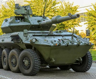 New Centauro II armored vehicle unveiled