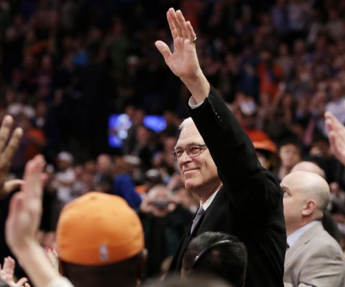 New York Knicks' Phil Jackson denies Los Angeles Lakers return
