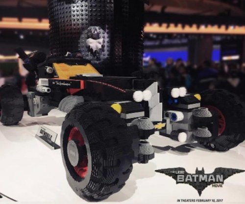 Chevy and Warner Bros. construct life-size Batmobile made from 344,187 Legos