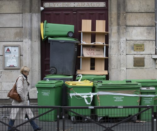 French students barricade schools in protest over alleged police abuse